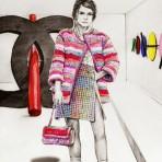 Nadia Coolrista: Retratos de íconos de la moda de ayer y hoy
