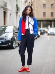 Lo mejor del Street Style en Milán Fashion Week Otoño/Invierno 2015