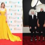 La moda de los BAFTA y los Grammys 2015