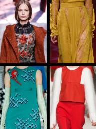 El romanticismo y la elegancia en las pasarelas de Milán Fashion Week F/W 2015