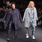 Zoolander en París Fashion Week: Ben Stiller y Owen Wilson cierran el desfile de Maison Valentino FW 2015