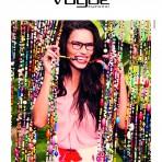 Adriana Lima y su primera campaña como embajadora de Vogue Eyewear