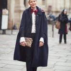 El abrigo-capa, una nueva tendencia para este otoño-invierno