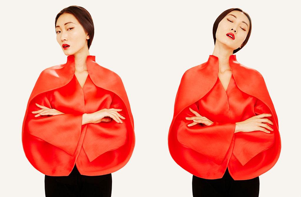 El regreso de la diseñadora española Sybilla con su colección O/I 2015