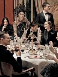 El aristocrático Broni en Vogue Japan, 2015