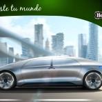 Mercedes-Benz F 015, el auto de moda del futuro