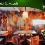 """Tetchan, el restaurante """"tejido"""" de Tokio hecho a partir de materiales reciclados #HeinekenLife"""