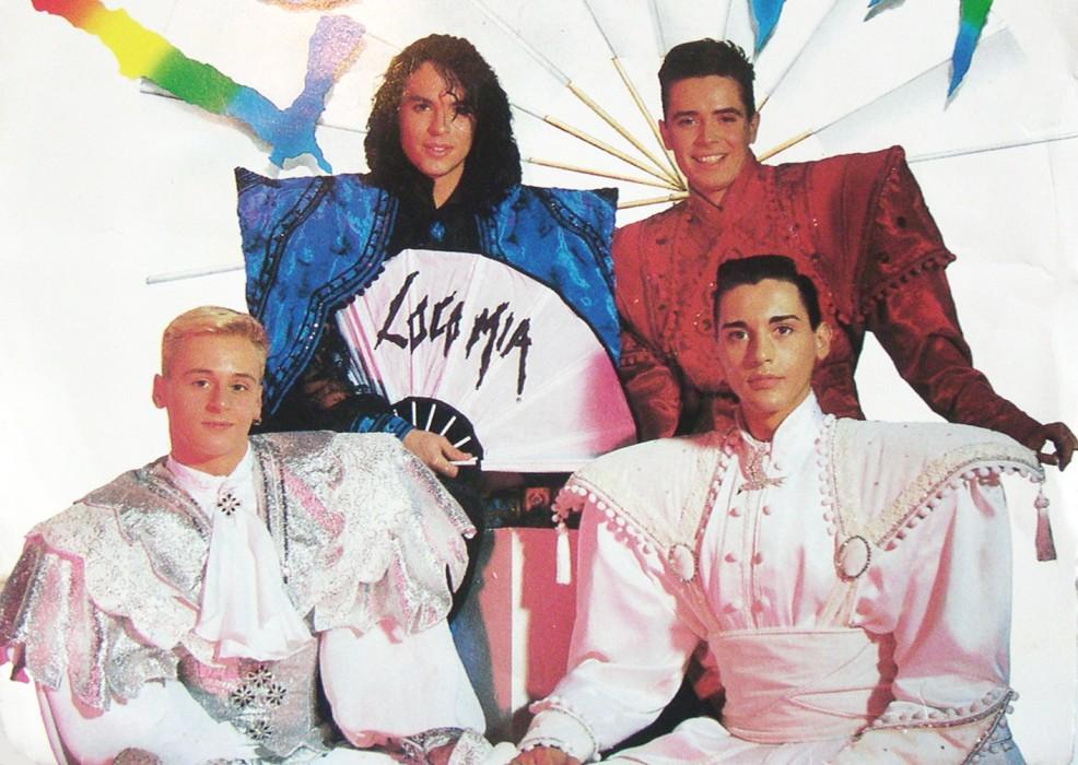 Esos locos a os 90 el estilo de locom a viste la calle for Blanca romero grupo musical