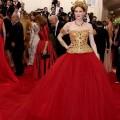 Karen Elson en Dolce & Gabbana