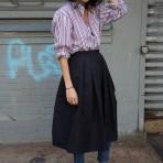 Tendencias que vuelven: Faldas sobre pantalones