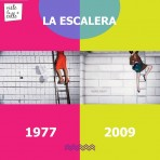 It's not the same but It's the same: La escalera