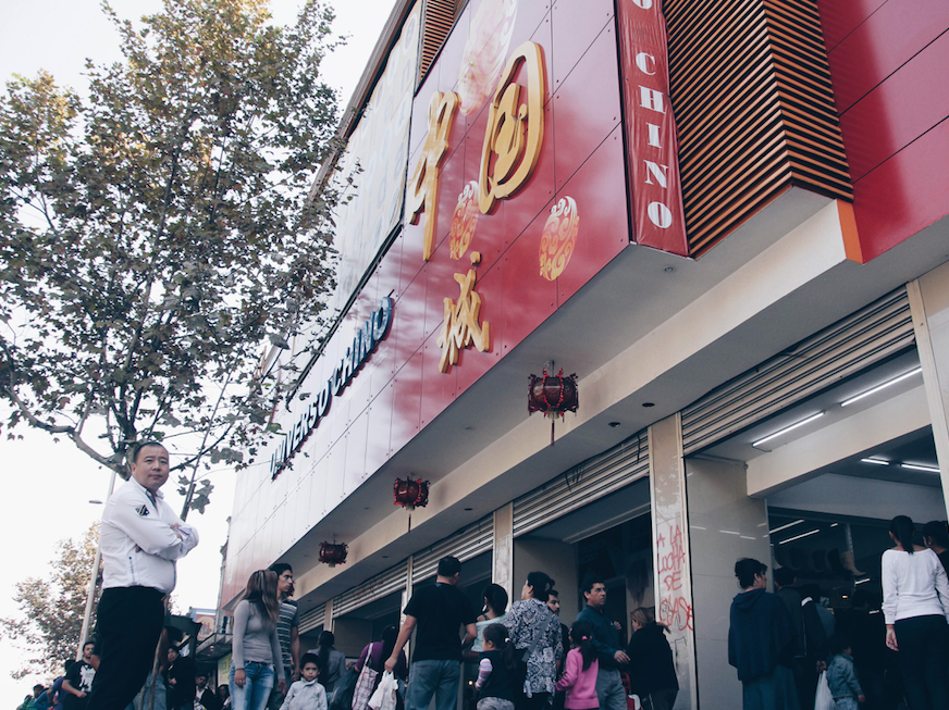 La ruta de los malls chinos