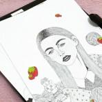 """Entrevista a la ilustradora mexicana Pamela Loredo Sustaita: """"Tener disciplina y nunca dejar de trabajar, ésa es la clave"""""""