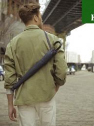 Bajo la lluvia con estilo gracias a 'Blue Jean Umbrella'  #HeinekenLife