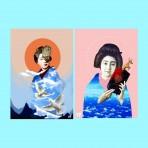 """Entrevista a la artista colombiana Vivian Pantoja: """"Busco que la gente imagine y sienta algo diferente cuando esté mirando un collage"""""""