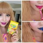 La peligrosa tendencia de tutoriales para maquillarse con lápices de colores
