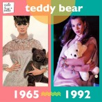 It's not the same but it's the same: Teddy Bear