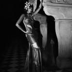 Los 60 años de Iman en Vanity Fair Italia, 2015