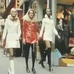 VLC ♥ Mary Quant y su colección en las calles de Londres, 1969