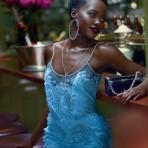 Lupita Nyong'o bajo el romanticismo de Vogue, 2015