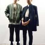 Camilo Bustos y Dominik Humeres