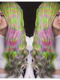 Tie Dye Hair, la nueva tendencia en coloración de cabello inspirada en los años 70