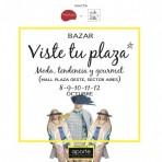 Del 8 al 12 de octubre: Los invitamos a un nuevo bazar VisteTuPlaza en Mall Plaza Oeste