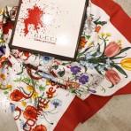 Gucci x Comme des Garçons: La colección cápsula de pañuelos