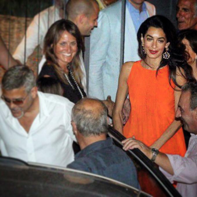 Amal Clooney en Monse