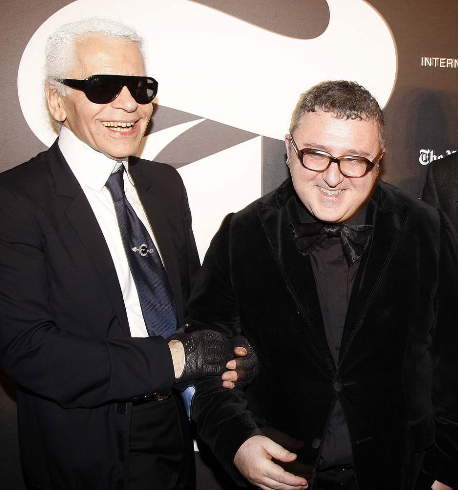 Karl Lagerfeld y Alber Elbaz