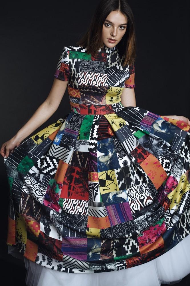 Vestido de Sebastián del Real inspirado en Sarah Jessica Parker