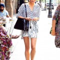 BuzzFoto Celebrity Sightings In New York - August 09, 2015