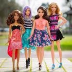 Barbie evoluciona y lanza su línea Fashionistas 2016 con tres nuevas tallas y muñecas