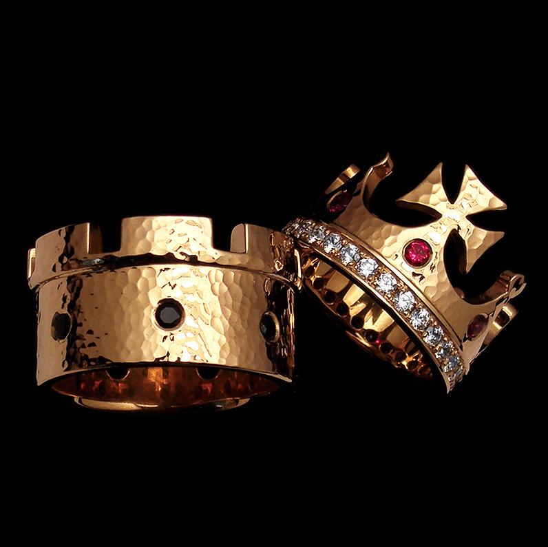 anillo torre y del rey