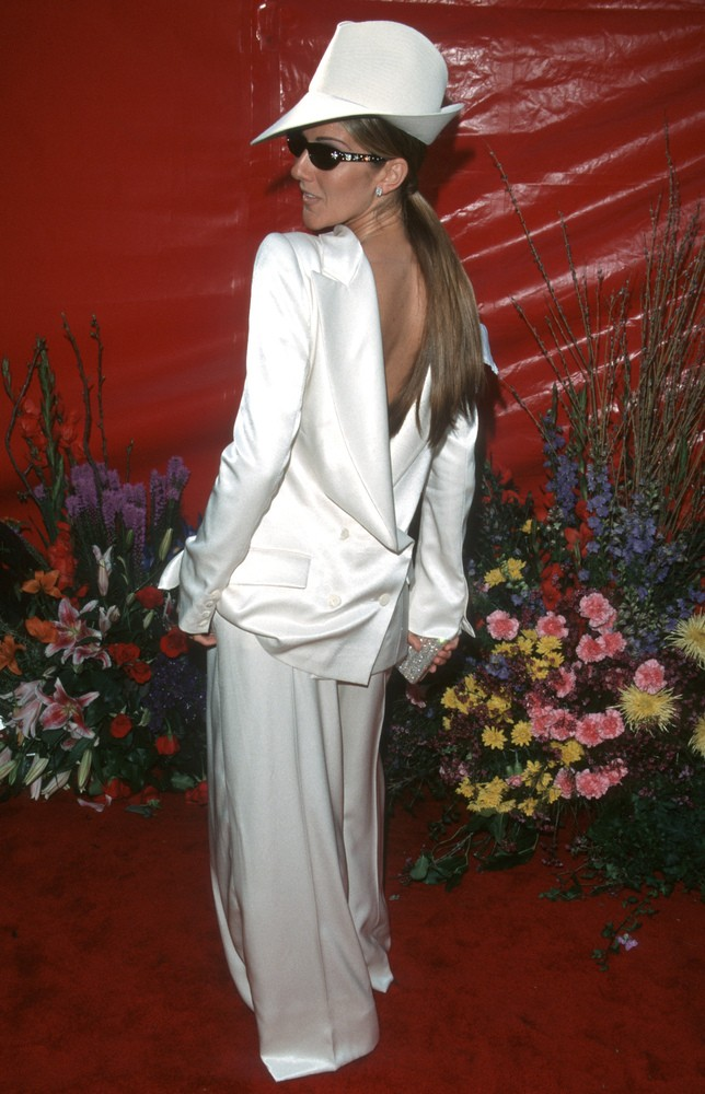 1999 Celine Dion en Christian Dior Galliano