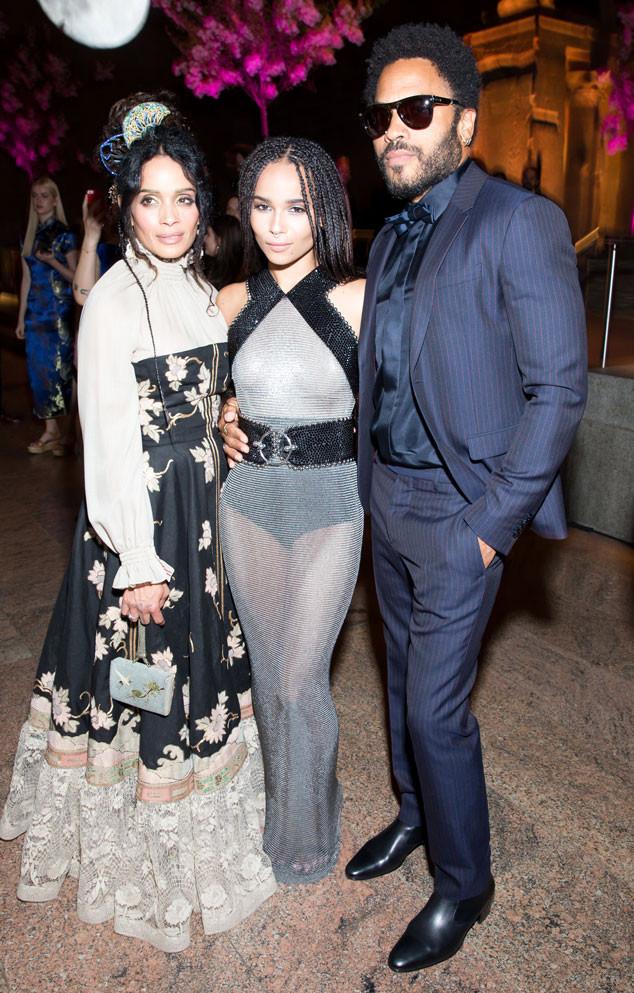 2015 Lisa Bonet & Lenny Kravitz