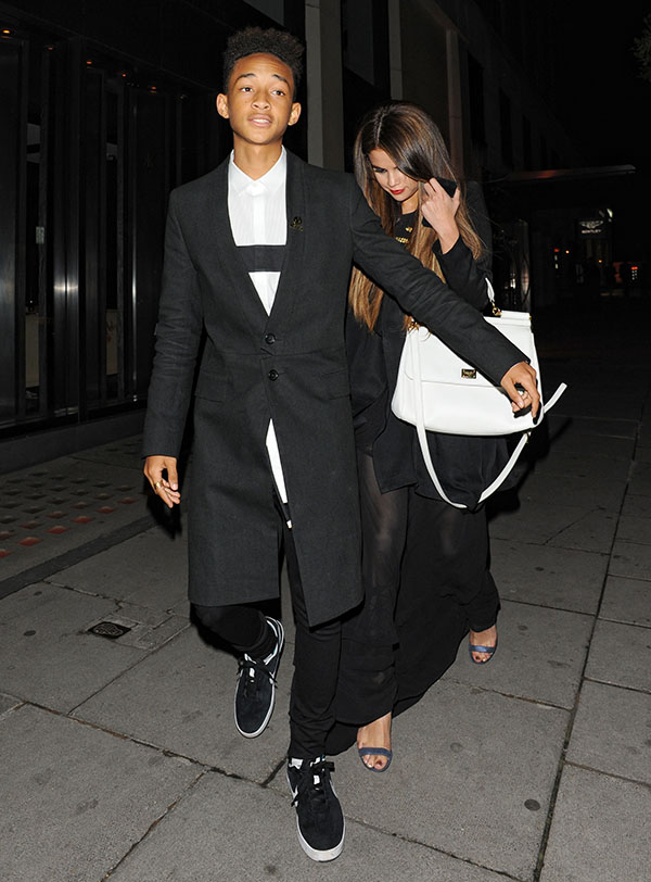 Celebrities At Hakkasan Restaurant in Mayfair Featuring: Selena Gomez,Jaden Smith Where: London, United Kingdom When: 23 May 2013 Credit: WENN.com