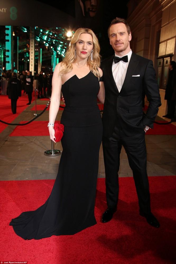 Kate Winslet y Michael Fassbender