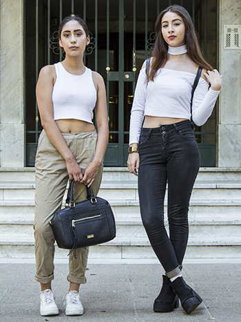 Thea Torres y Valentina Leiva