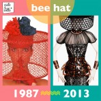 It's not the same but It's the same: Bee hat