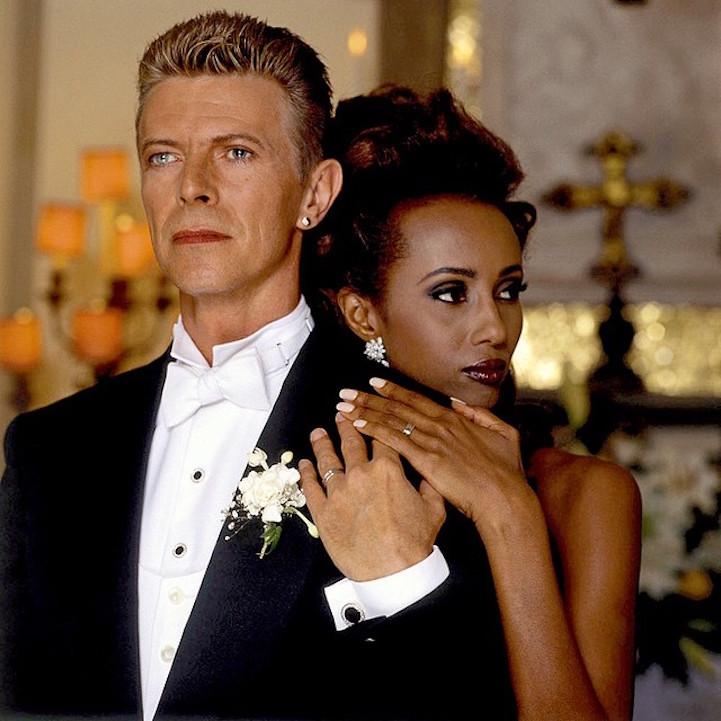 Bowie & Iman