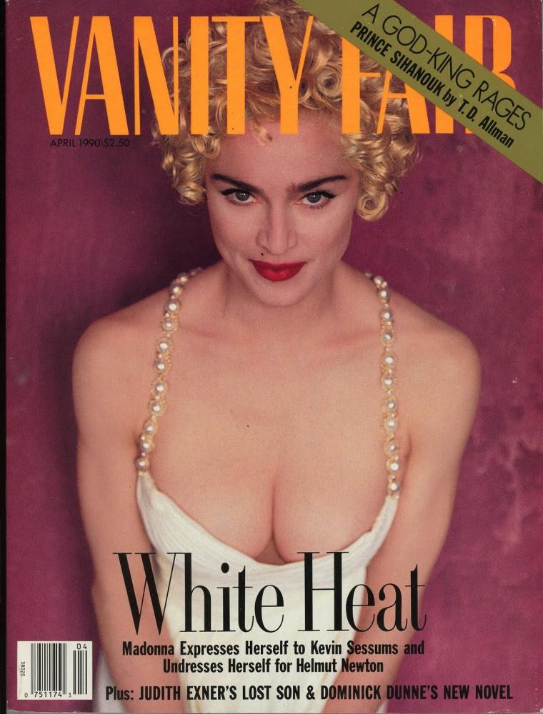 1990 vanity-fair-madonna Helmut Newton