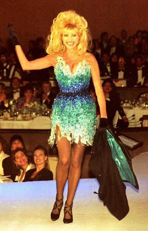 Ivana Trump en Thierry Mugler