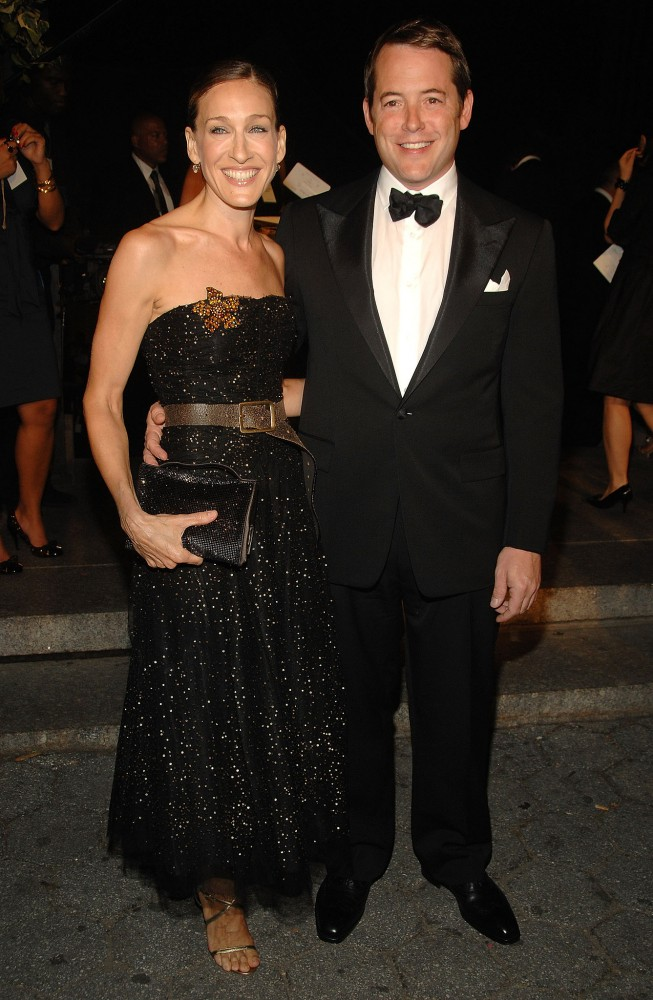 Sarah-Jessica-Parker-Matthew-Broderick-dressed-up-attend-Ralph