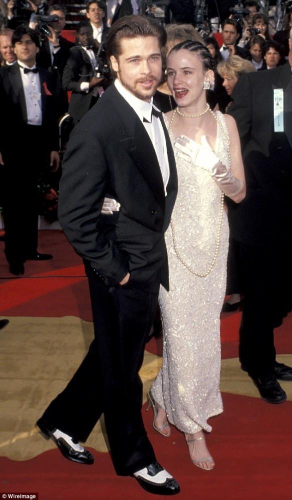 Juliette & Brad Pitt