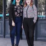 America Guajardo y Romina Esteve