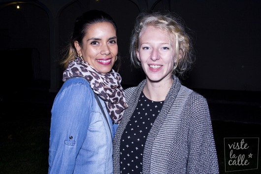 Diane Marissal y Betania Silva