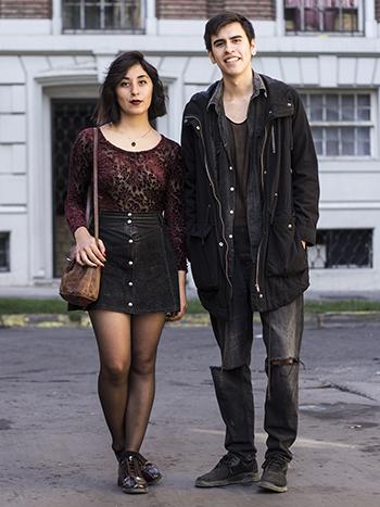 Karla Castillo y Camilo Segura