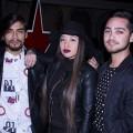 Kevin Rice, Catherinne Escobar y Emanuel Fuentealba