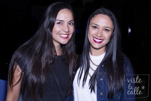 Maribel Gonzalez y Tamara Aros